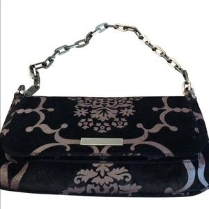 GUCCI VELVET AND SILK JACQUARD BAG